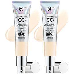 A-D IT Cosmetics CC Cream Duo with SPF50 Auto-Delivery | QVC