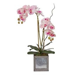 Faux Flower Arrangement Orchid in Pot   Wayfair North America
