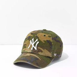 '47 New York Yankees Camo Baseball Hat   American Eagle Outfitters (US & CA)