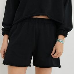 Aerie Real Good Fleece-Of-Mind High Waisted Short | American Eagle Outfitters (US & CA)