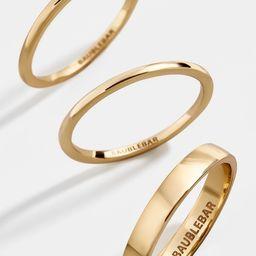 Tris Ring Set | BaubleBar (US)
