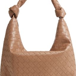 Street Level Knot Handle Faux Leather Hobo | Nordstrom | Nordstrom