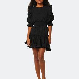 Doutzen Puff Sleeve Eyelet Mini Dress | Verishop