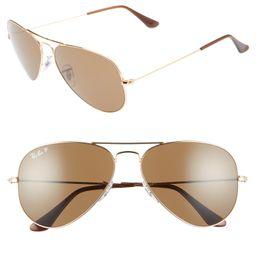 Original 58mm Aviator Sunglasses | Nordstrom