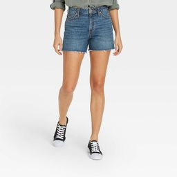 Women's High-Rise Jean Shorts - Universal Thread™   Target