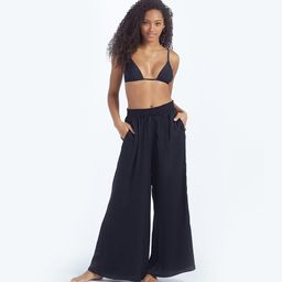 The Palazzo Pant With Ties - Sea Urchin   SummerSalt