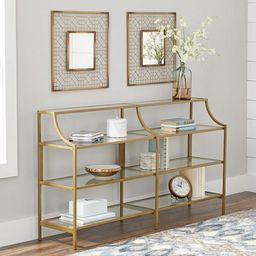 Better Homes & Gardens Nola Console Table, Gold Finish   Walmart (US)