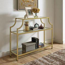 Crosley Furniture Aimee Glass Console Table   Walmart (US)