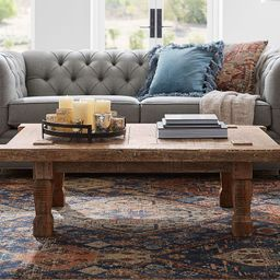 """Takhat 53.5"""" Reclaimed Wood Coffee Table 