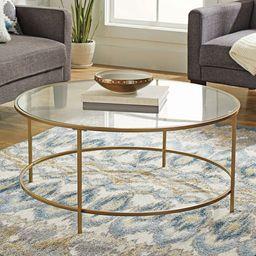 Better Homes & Gardens Nola Coffee Table, Gold Finish   Walmart (US)