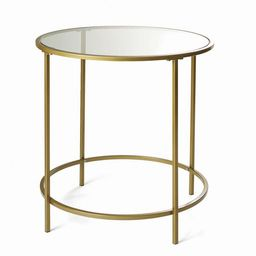 Better Homes & Gardens Nola Side Table, Gold Finish   Walmart (US)