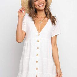 Krimble Dress - White   Petal & Pup (US)