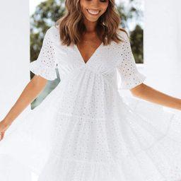 Keshi Dress - White   Petal & Pup (US)