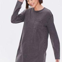 Long-Sleeve T-Shirt Dress   Forever 21 (US)