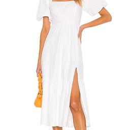 Poplin Tiered Dress | Revolve Clothing (Global)
