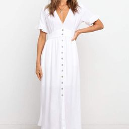 Miraloma Dress - White | Petal & Pup (US)