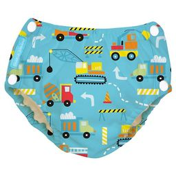 Charlie Banana Reusable Easy Snaps Swim Diaper, Under Construction (Assorted Sizes)   Target