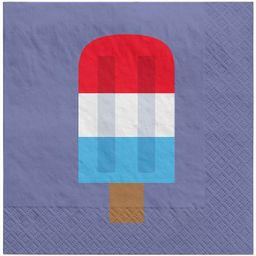 30ct Lunch Napkin Popsicle Navy - Sun Squad™ | Target