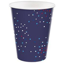 10ct 12oz Cup Confetti Stars on Navy - Sun Squad™ | Target