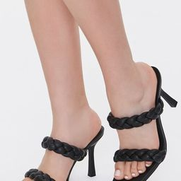 Braided Square-Toe Heels | Forever 21 (US)