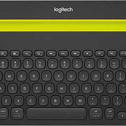 Logitech Bluetooth Multi-Device Keyboard K480 – Black – Works with Windows and Mac Computers,...   Amazon (US)