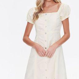 Linen Fit & Flare Dress | Forever 21 (US)