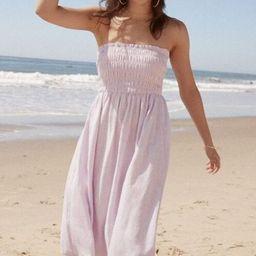 Smocked Strapless Dress   Forever 21 (US)