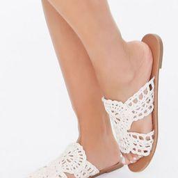 Crochet Flat Sandals   Forever 21 (US)