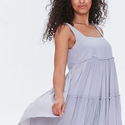 Shirred Tiered Mini Dress   Forever 21 (US)