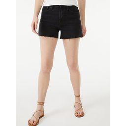 Free Assembly Women's 90's Cut Off Denim Shorts | Walmart (US)