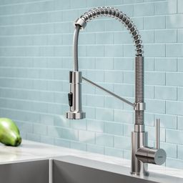 KPF-1610SS Bolden Pull Down Single Handle Kitchen Faucet | Wayfair North America