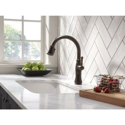 9197-RB-DST Cassidy Pull Down Touch Single Handle Kitchen Faucet with MagnaTite® Docking   Wayfair North America