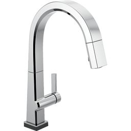 9193T-DST Pivotal Pull Down Touch Single Handle Kitchen Faucet with Touch20 Technology   Wayfair North America