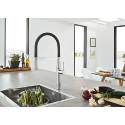 30295000 Essence Single Handle Kitchen Faucet with SilkMove® | Wayfair North America