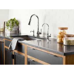 S72003 Paterson One-Handle Pull Down Single Handle Kitchen Faucet with Power Boost | Wayfair North America