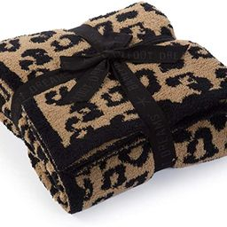 Barefoot Dreams CozyChic Barefoot in The Wild Throw Leopard One Size | Amazon (US)