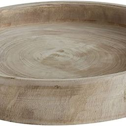 Creative Co-Op Paulownia Wood Hand Carved Tray | Amazon (US)