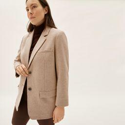 Women's Oversized Blazer by Everlane in Beige Twill, Size 16 | Everlane