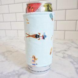 Reusable Slim Can Sleeve - Beach Babe Print | Etsy (US)