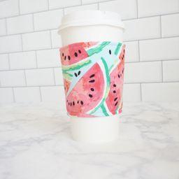 Reusable Coffee Sleeve-Watermelon Print | Etsy (US)
