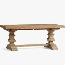 Banks Extending Dining Table | Pottery Barn (US)