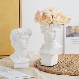 David Statue Vase Nordic Style Vase Creative Art Vase Home | Etsy | Etsy (US)