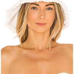 Casa Clara Evan Bucket Hat in White from Revolve.com   Revolve Clothing (Global)