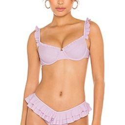 Tularosa Fabiana Top in Lilac from Revolve.com   Revolve Clothing (Global)