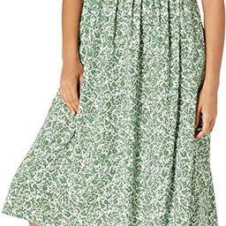 Amazon Brand - Goodthreads Women's Georgette Smock-Back Cami Midi Dress | Amazon (US)