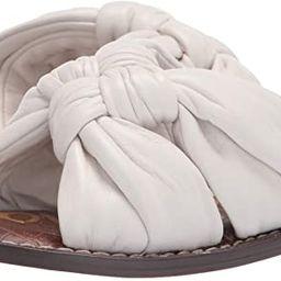 Sam Edelman Women's Garson Flat Sandal | Amazon (US)