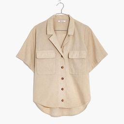 Undyed Linen-Cotton Medina Shirt | Madewell