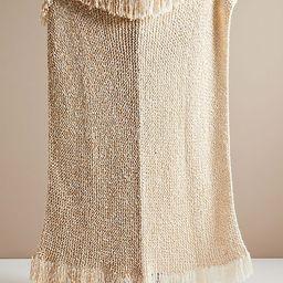 Amber Lewis for Anthropologie Amboy Knit Throw Blanket | Anthropologie (US)