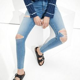 AE Ne(x)t Level Temp Tech Ripped High-Waisted Jegging | American Eagle Outfitters (US & CA)