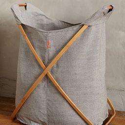 Large Cross-Fold Laundry Basket | Anthropologie (US)
